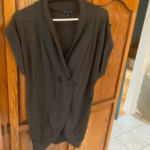 Women's large gray cardigan